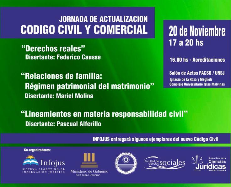 AFICHE CODIGO CIVIL 2014